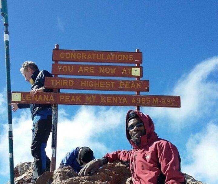 mount kenya climbing 5 days naro moru route