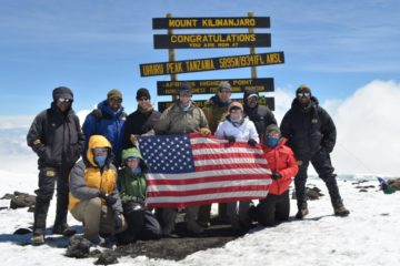 6 days mount kilimanjaro climbing machame route