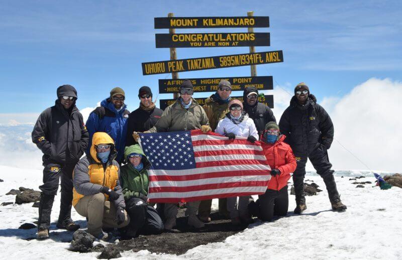 6 days mount kilimanjaro climbing machame route
