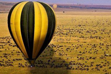 balloon safari kenya masai mara